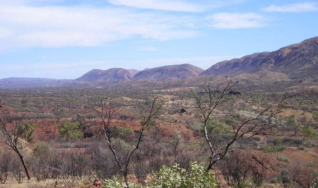 Namajiras blue macdonell ranges