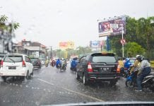 Crazy Bali traffic