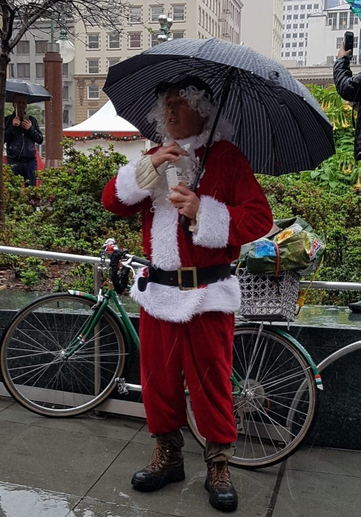 SantaCon 2016 in San Francisco
