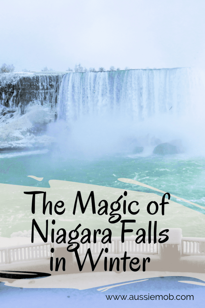 The Magic of Niagara Falls in Winter