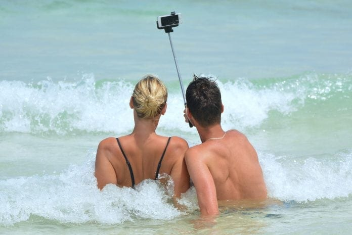 Selfie Stick pic - Holiday in Cairns