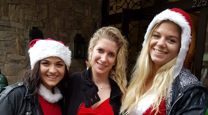 Beautiful SantaCon Santas