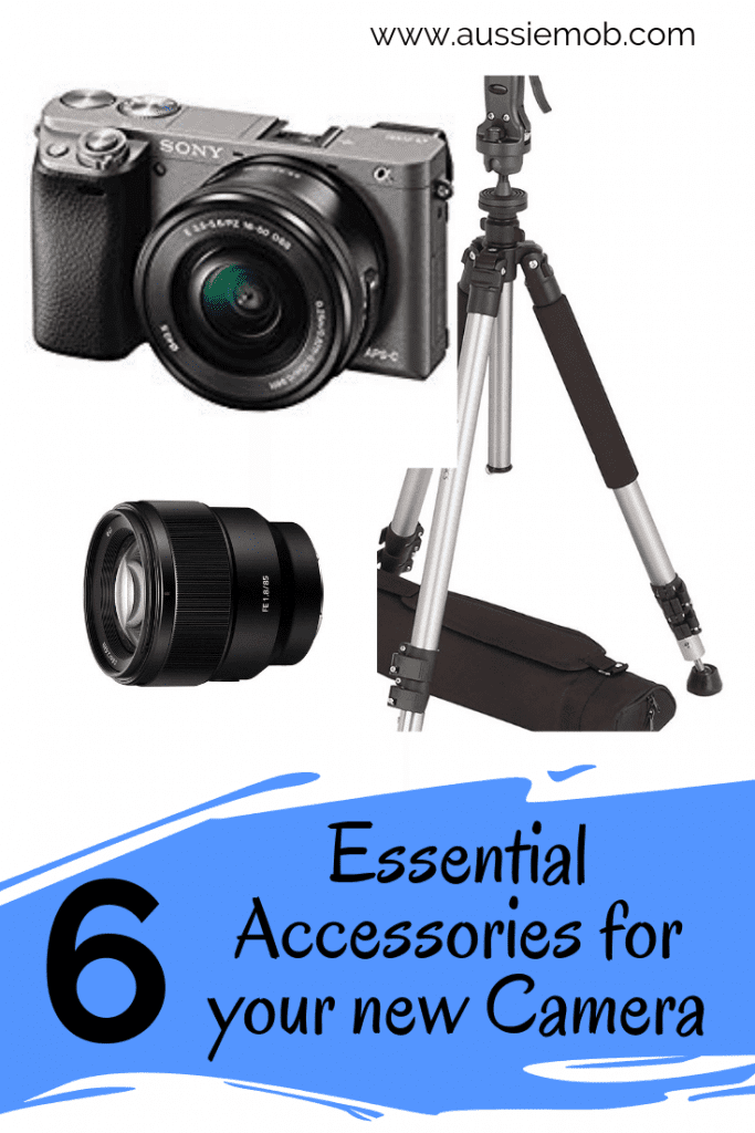 Essential Accessories for your new Camera