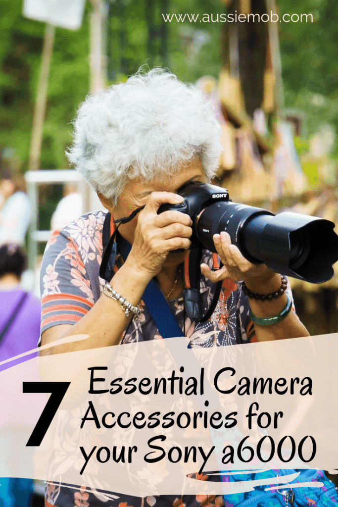 Essential Camera Accessories for your Sony a6000