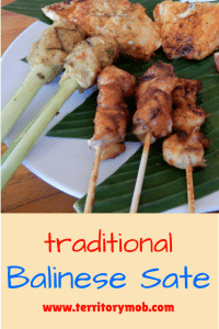 Traditional Balinese Sate