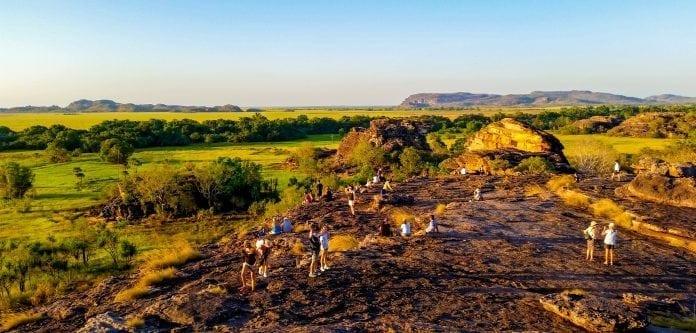 Ubirr Rock in Kakadu National Park