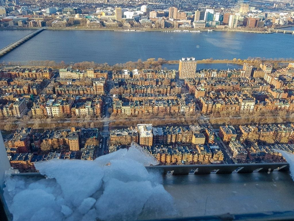 Boston from the SkyWalk Observatory