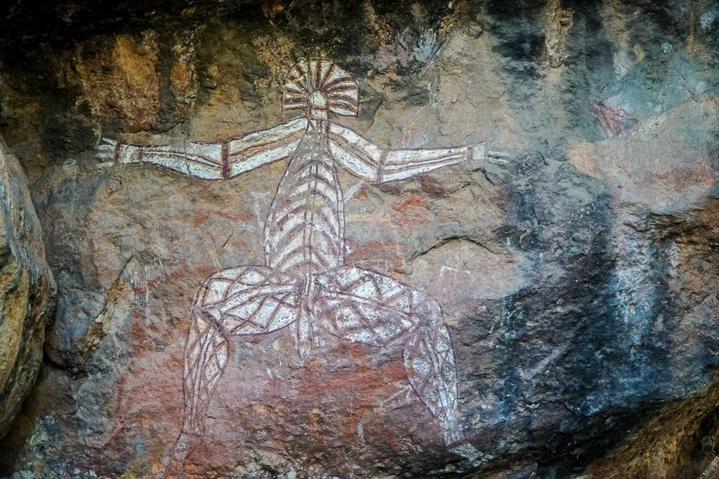 Kakadu - Aboriginal rock art
