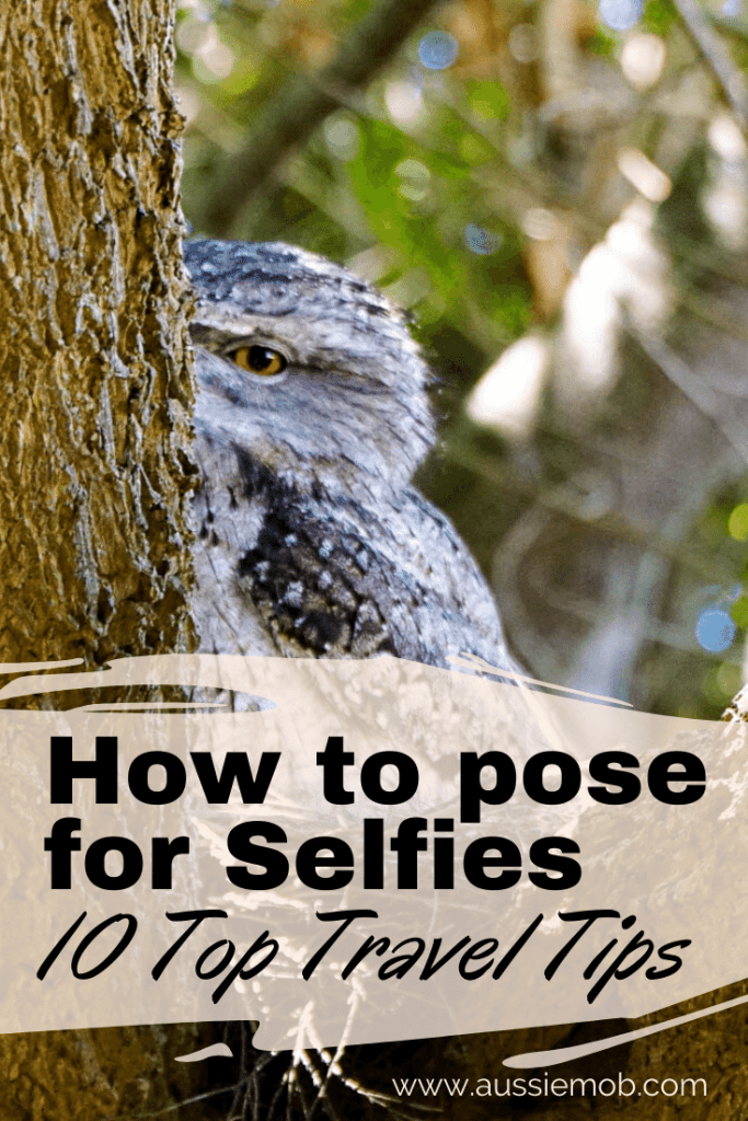 How to pose for Selfies