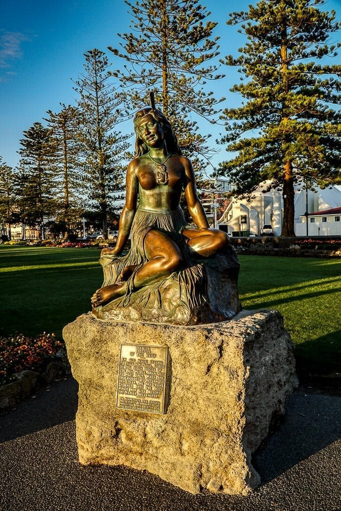 Te Pania herself - Napier New Zealand