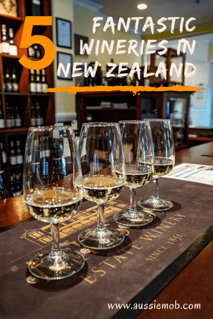 5 fantastic wineries in New Zealand