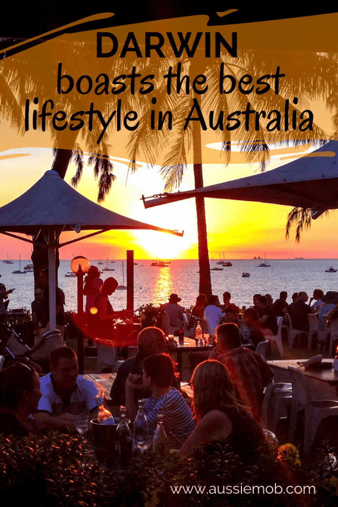 Darwin boasts the best lifestyle in Australia