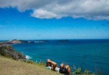 Relax and enjoy Cape Reinga