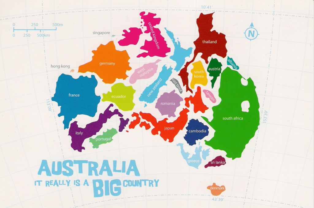 Australia is a huge country